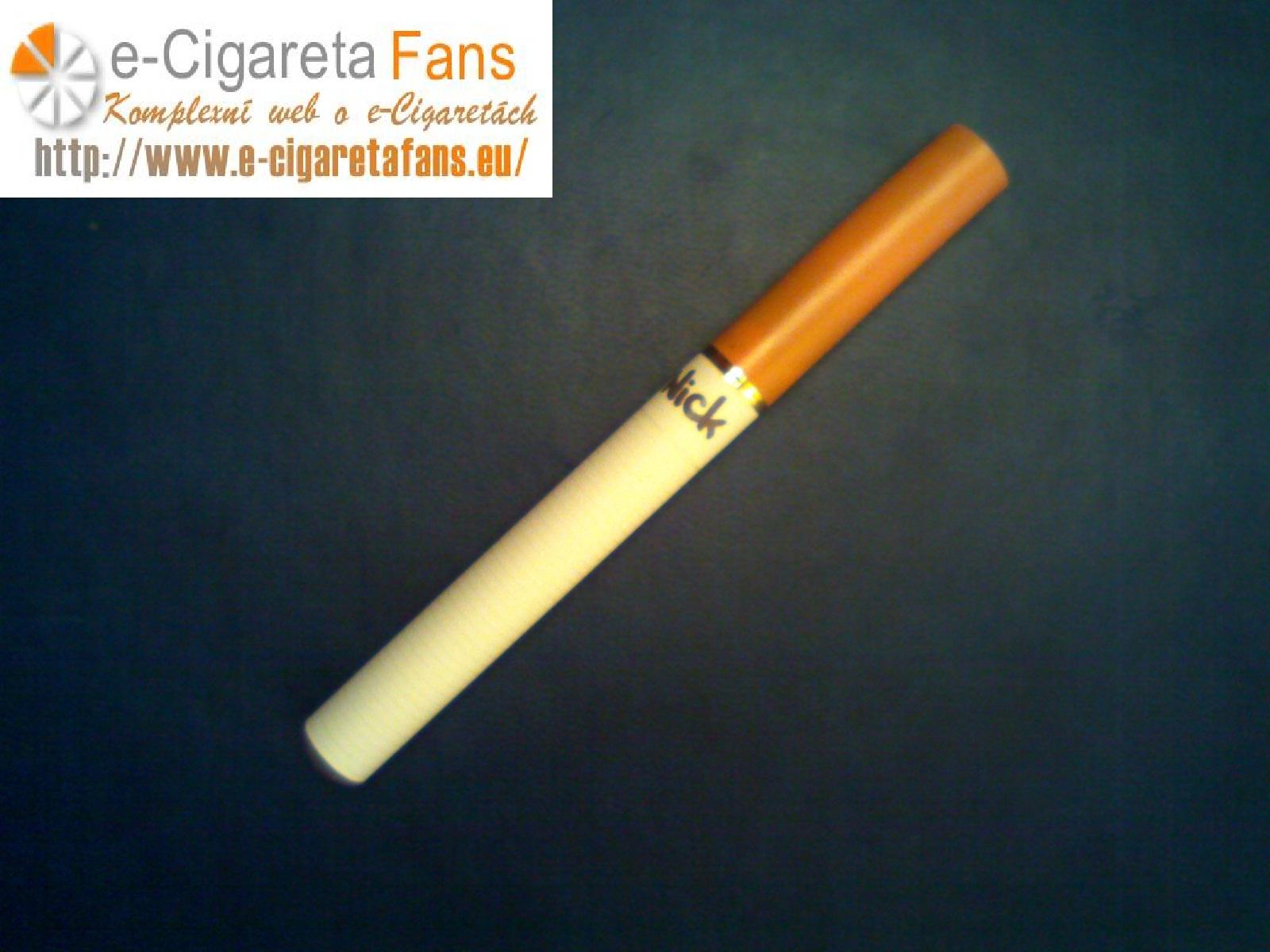 Recenze elektronické cigarety Nick
